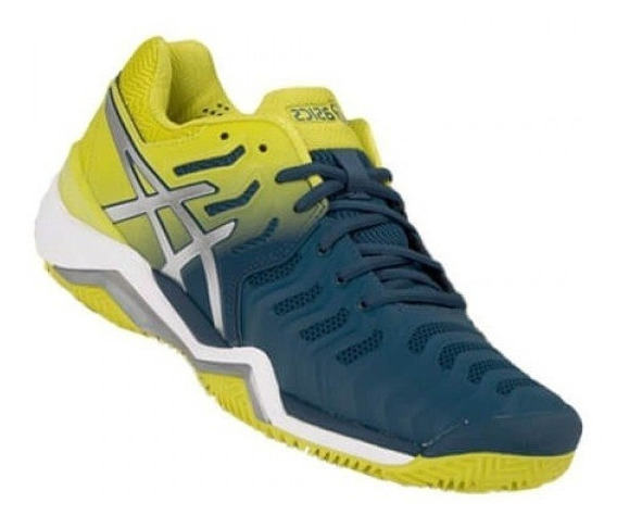 Tênis Asics Gel Resolution 7 Clay Ink Blue Saibro Masculino