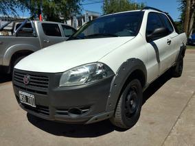 Fiat Strada Doble Cabina 2014 Anticipo $149500 Y Cuotas