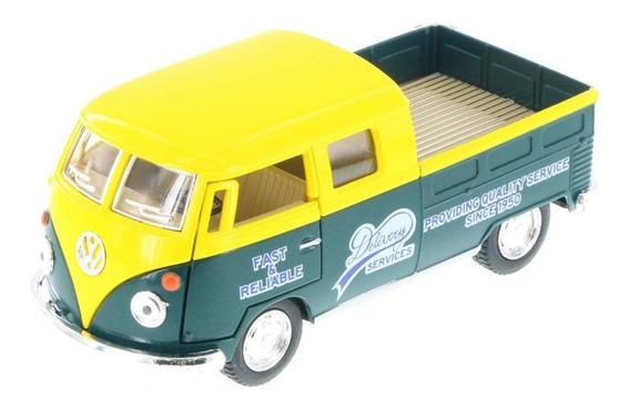 Pick Up Volkswagen Doble Cabina 1963 Escala 1:32 Kinsmart