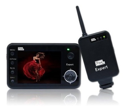 Controle Pixel Expert Com Monitor Sem Fio Para Dslr Nikon