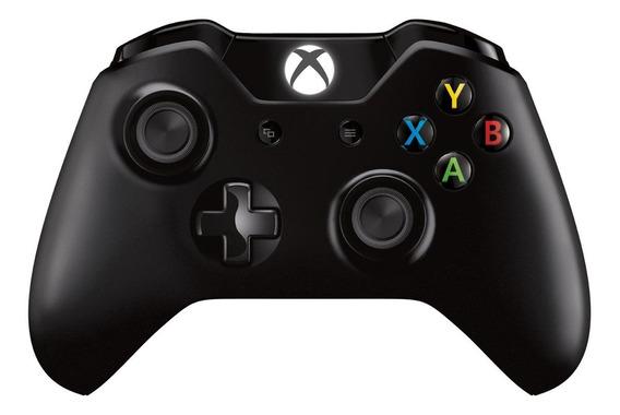 Controle joystick sem fio Microsoft Xbox Controller + Wireless Adapter Windows 10 preto