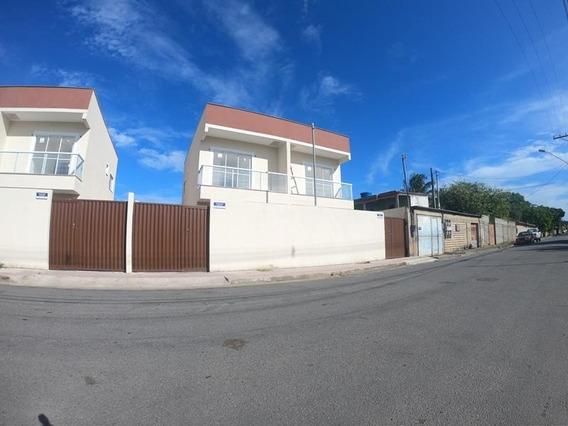 Jacaraipe, Bairro São Francisco, Casa Duplex Com 75 M², 2 Quartos Com Suíte, Quintal Grande E Individualizado, Com Excelente Acabamento. - Ca00333 - 34939165