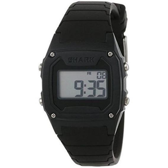 Relógio Freestyle Shark Classic Black Silicone 101812 Preto