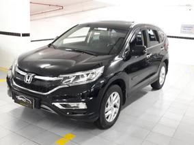 Honda Crv Exl 2.4 Flex 2016 Teto Solar Baixo Km