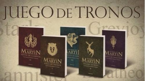 Imagen 1 de 7 de Saga Canción De Hielo Y Fuego - Juego De Tronos - G. Martin