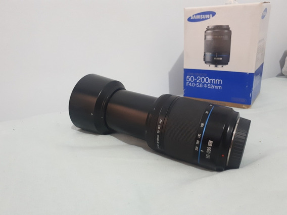 Camera Samsung Nx1000 Com Lentes 50-200mm E 20-50mm