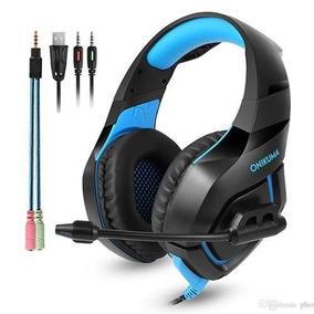 Fone Gamer Headset Profissional Onikuma Celular P2 Pc Ps4 K1