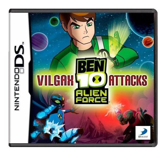Ben 10 Alien Force Vilgax Attacks Ds Mídia Física