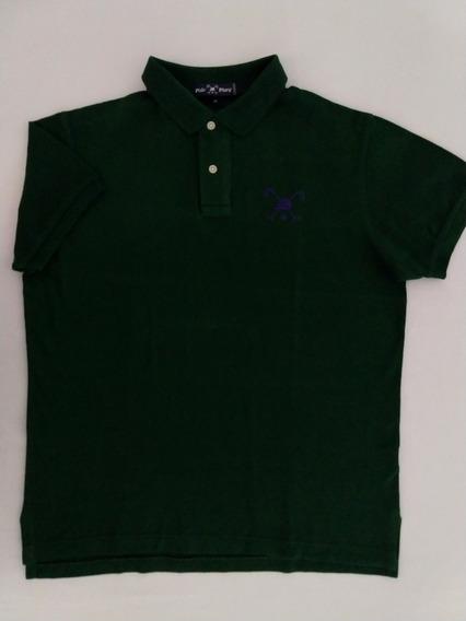 Camisa Polo Polo Play Masculina M Verde Oferta Original