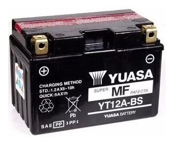 Bateria Yuasa Yt12a-bs 10ah Hayabusa 1300 Bandit 1250 Gsx750