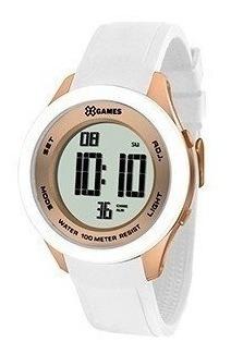 Relógio Feminino Branco Xgames Xmppd391 Bxbx