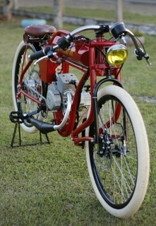 Bicicleta Motorizada, Café Racer, Board Tracker. Indian