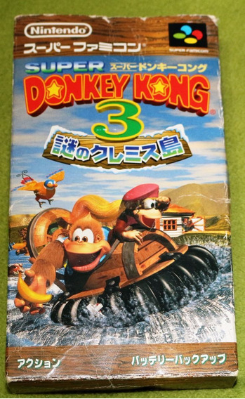 Jogo Donkey Kong Country 3: Dixie Kong