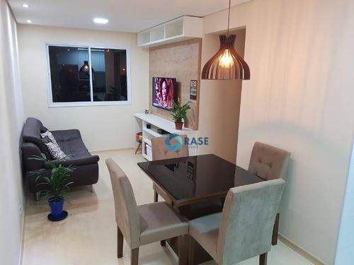 Imagem 1 de 14 de Apartamento À Venda, 43 M² Por R$ 264.000,00 - Campo Limpo - São Paulo/sp - Ap6986
