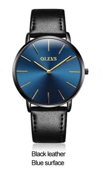 Relógio Masculino Olevs 5868 De Pulso Original Frete Grátis