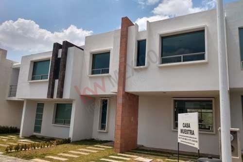 Se Vende Casa Nueva En Fraccionamiento A 5 Mins. De Plaza Galerías Pachuca