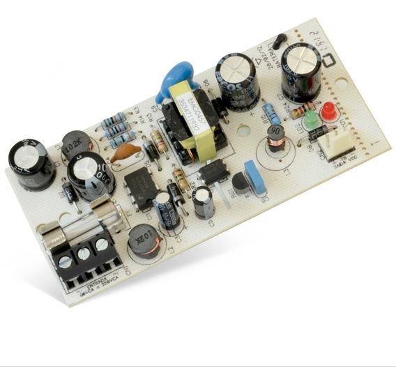Fonte Compatec Fcc05 12v Para Central Alarme Ap8 Ap4 500ma