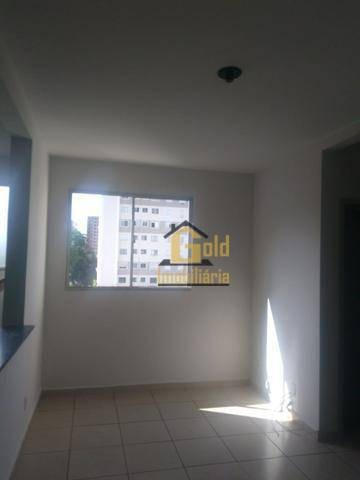 Apartamento Com 2 Dormitórios Para Alugar, 47 M² Por R$ 1.200,00/mês - City Ribeirão - Ribeirão Preto/sp - Ap2449