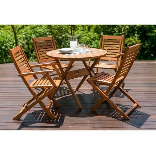 Conjunto Para Jardim Mesa 2 Cadeiras Ipanema E 2 Je