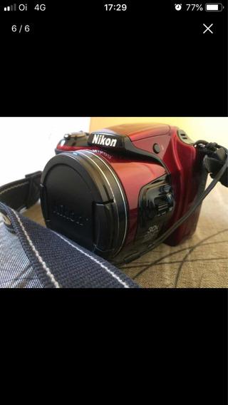 Câmera Semi Profissional Da Nikon