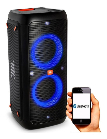 Caixa De Som Churrasco Festa Bluetooth Jbl Party Box Leds