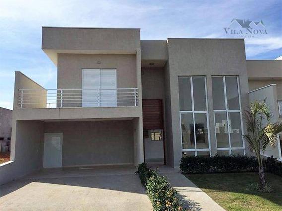 Casa Residencial À Venda, 4 Dormitórios, Jardim Esplanada, Indaiatuba. - Ca0611