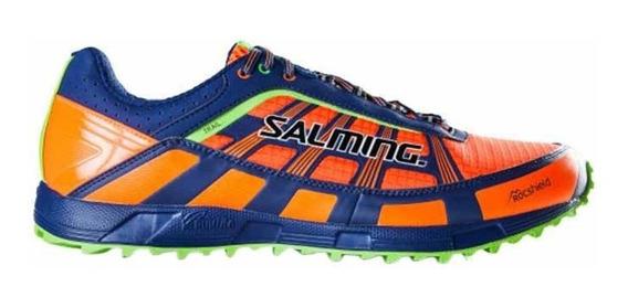 Zapatillas Salming Running Trail T3 Hombre Naranja