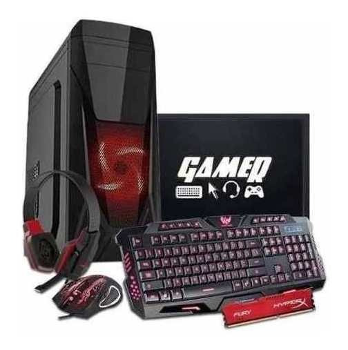 Pc Gamer Intel G4560 8gb Gtx1050ti Desktop Novo Barato Pro