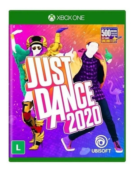 Just Dance 2020 Xone Mídia Física Nacional Lacrado Rj