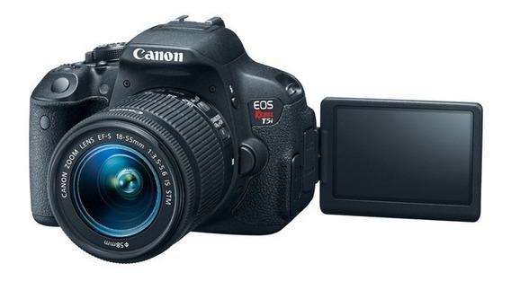 Câmera Canon T5i + Lentes