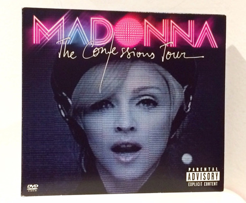 Madonna The Confessions Tour Cd Dvd Nuevo Importado
