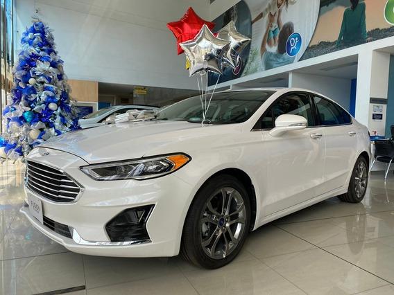 Ford Fusion Híbrido 2020 Motor 2.0l Blanco Puro 0km