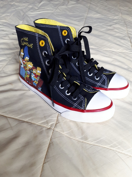 Tênis All Star Cano Longo The Simpsons