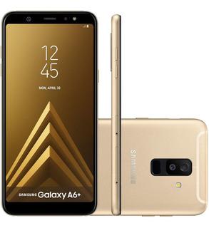 Samsung Galaxy A6+ A605g 64/4gb Dual 16mp Dourado Vitrine 1