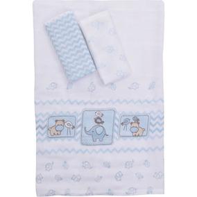 Kit Fraldas Infantil Colibri Baby Estampado - 100% Algodão -