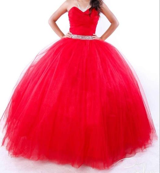 Vestidos De Xv Años Color Rojo En Mercado Libre México