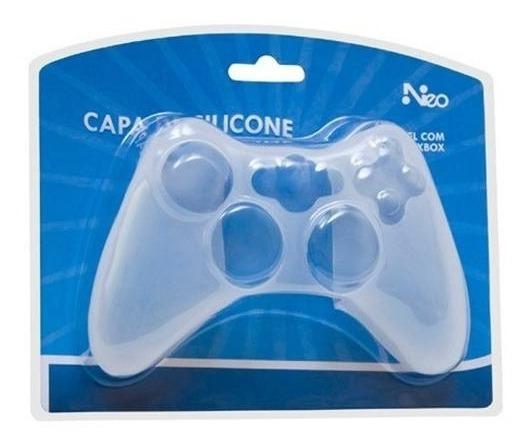 Capa De Silicone Neo Para Controle Xbox 360 Com Nf