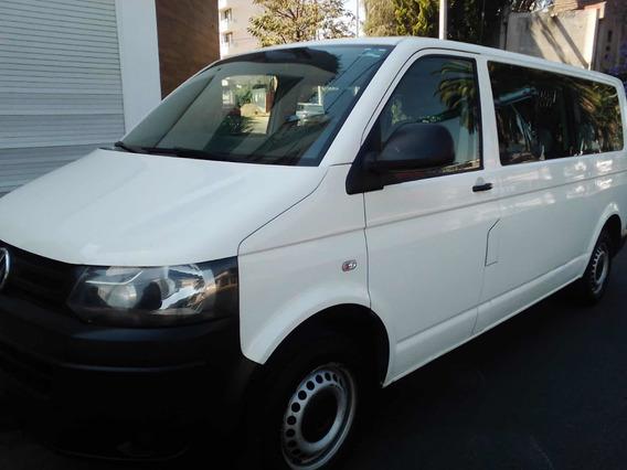 Volkswagen Transporter 2.0 10pas Aa Mt 2014