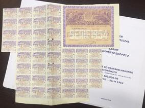 Apólice Reaparelhamento Econômico 1954 100.000 Nº011,792