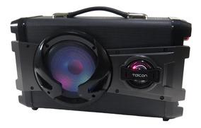 Caixa De Som Bluetooth Amplificada Karaokê 200w Taicon