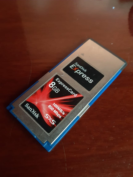 Baixou - Cartão Sxs Sandisk Express 8gb - Sony Xdcam 100mbs