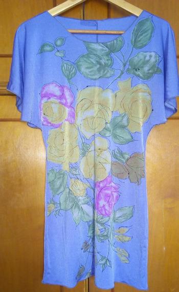 Blusa Remerón De Mujer Estampada