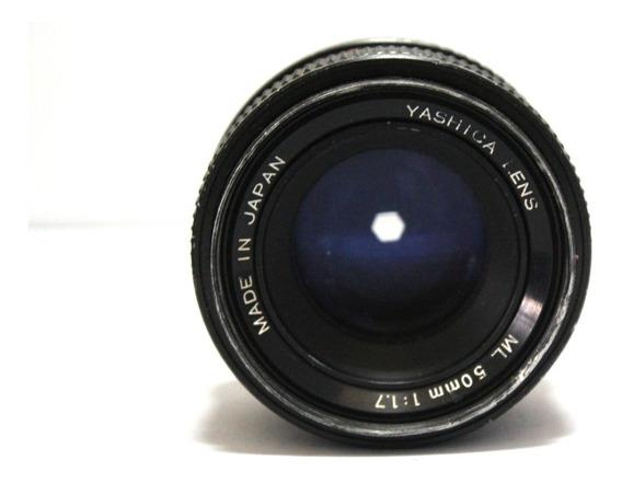 Lente Yashica 50mm 1.7 Retro Coleção P/ Retirada De Peça