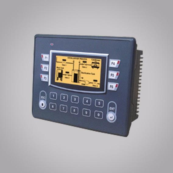 Panel Hmi Con Plc, Pantalla Lcd, Grafica 128x64, 18 Teclas
