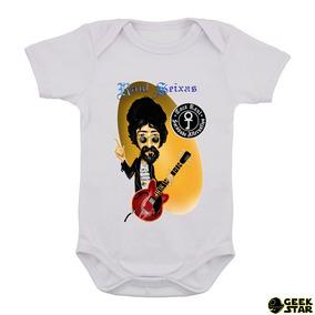 Body Infantil Raul Seixas Banda Rock Nacional Bebê 2