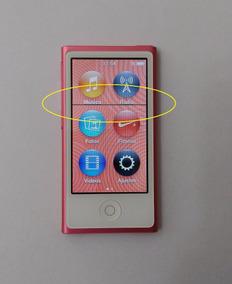 Ipod Nano 16gb 7 Geração Rosa Usado - Linha Lcd - Leia Mf0gm