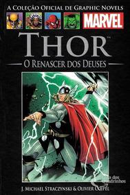 Thor O Renascer Dos Deuses Coleção Oficial Graphic Novels
