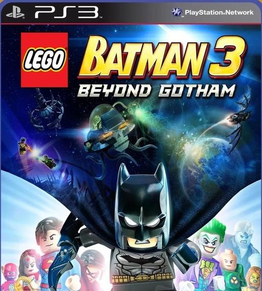 Lego Batman 3 Beyond Gotham Ps3 Envio Rápdio Português