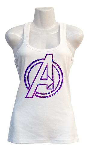 Polera Avengers - Marvel Cómics - Super Héroes - Deportiva