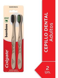 Cepillo Dental Colgate Bamboo Charcoal 2unid